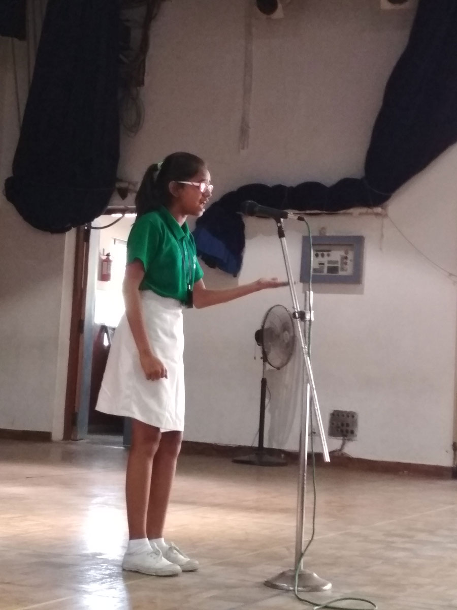 Hindi Elocution 2018 | Sishya